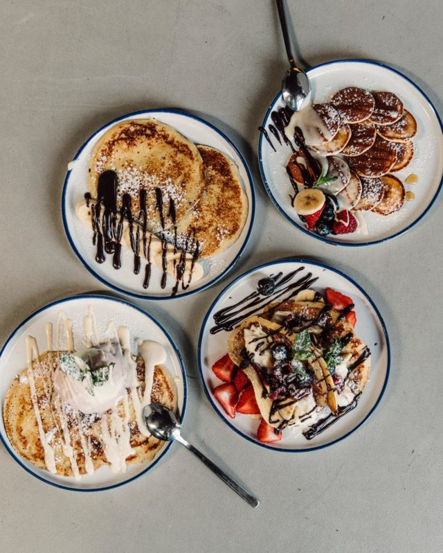 Our STACKS team has missed you so much that we decided to open our doors Sunday 28/02 from 10:00 - 18:00 to serve you our classic crêpes and poffertjes. Don't miss out on all the yumminess this Sunday 🥞🥞🥞